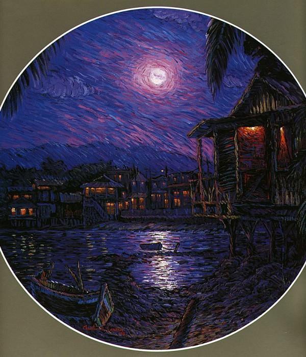Homage To Van Gogh. Christian Riese Lassen
