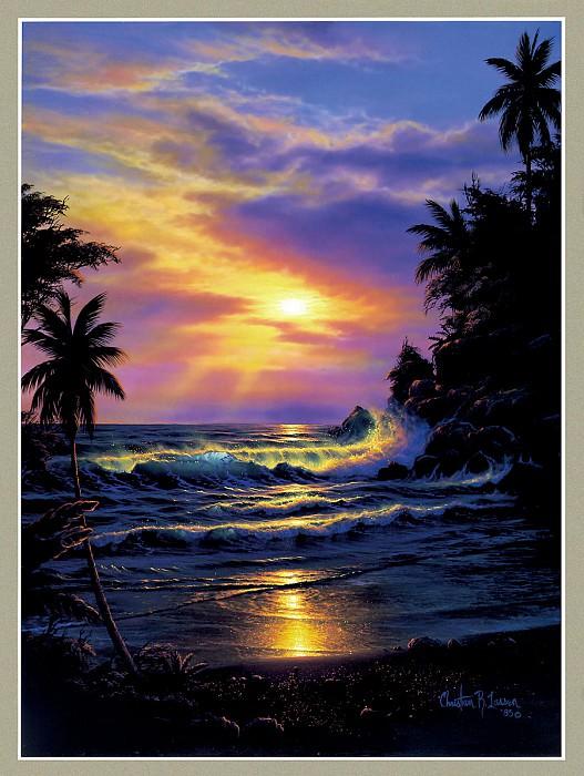 Purple SunsetL. Christian Riese Lassen