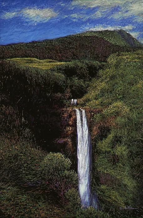 Парный водопад. Кристиан Риес Лассен