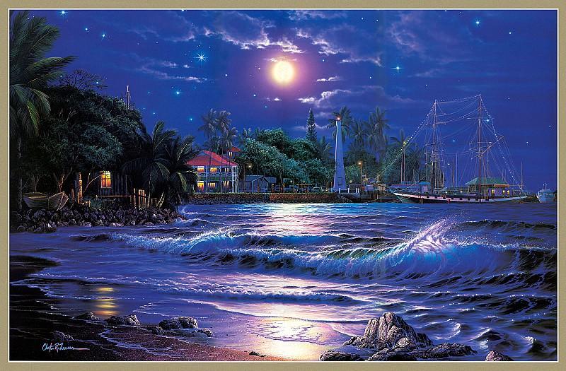 Свет звезд над Лахайной. Кристиан Риес Лассен