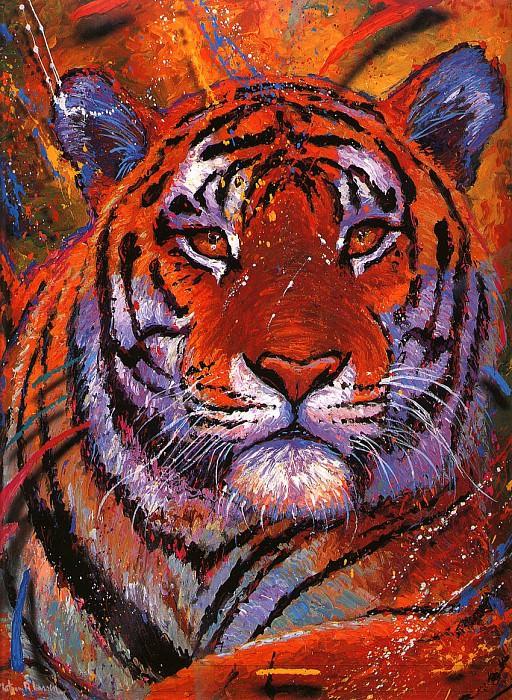 Tiger. Christian Riese Lassen