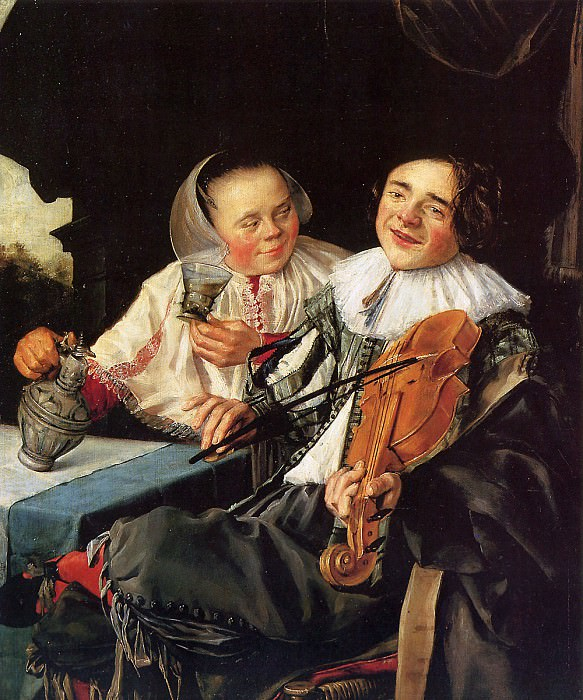 Merry couple. Judith Leyster