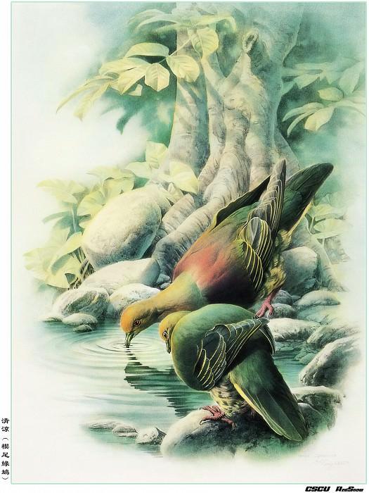 RedSnow CSCU Painting of ZengXiaoLian 53. Сяо Цзэн Лиан