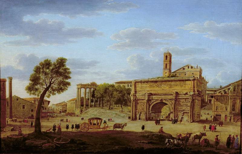 Hadrians Arch, Rome. Hendrik van Lint