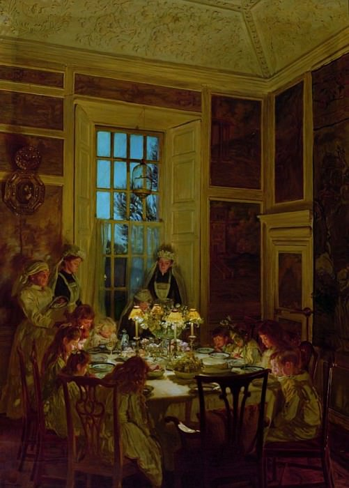 Grandmothers Birthday. John Henry Lorimer