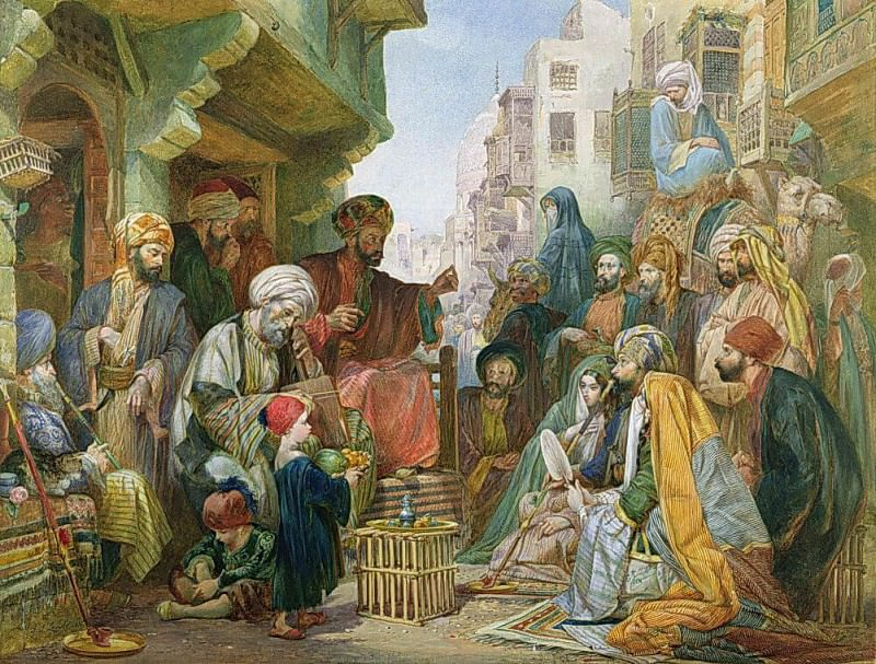 A Street in Cairo. John Frederick Lewis