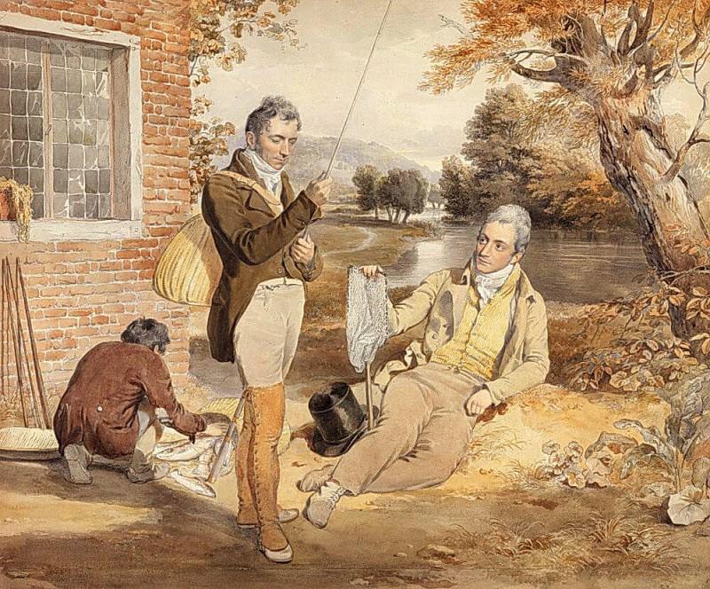Fishing. John Frederick Lewis
