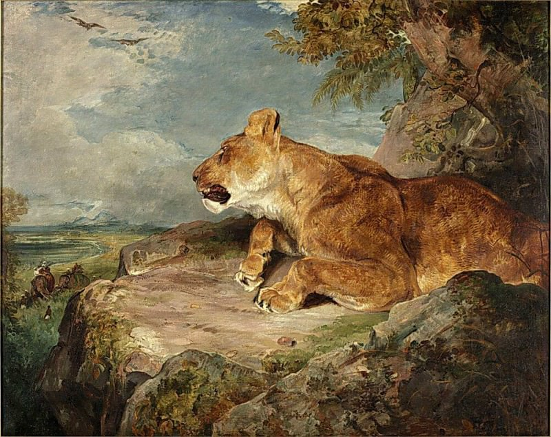 The Lioness. John Frederick Lewis