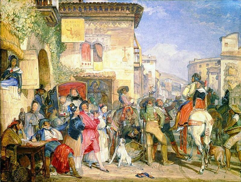 Spanish Fiesta. John Frederick Lewis