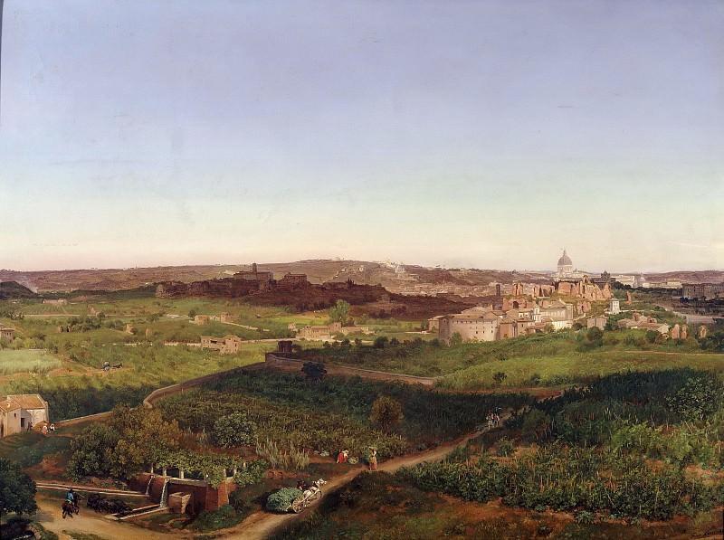 Вид на собор святого Петра. Фридрих Лос