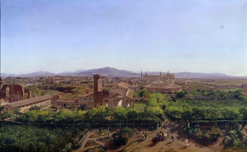 Вид на базилику Сан-Джованни ин Латерано. Фридрих Лос