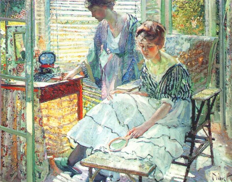 Солнечный свет, ок.1913. Ричард Эдвард Миллер