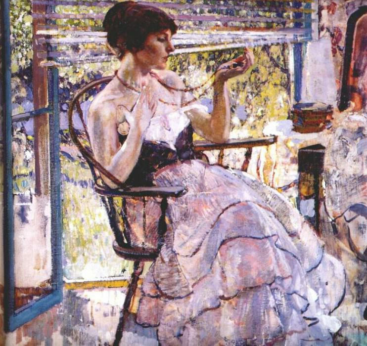 the necklace c1924. Richard Edward Miller