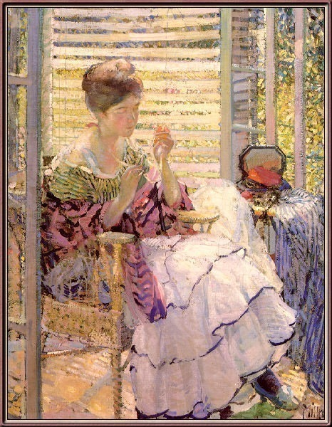 Meditation. Richard Edward Miller