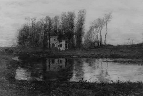 Old Manor Of Criqueboeuf. Homer Dodge Martin