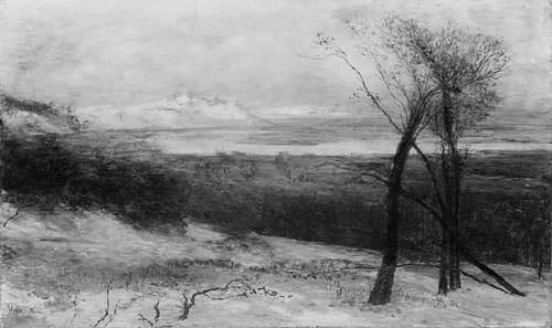 Behind Dunes Lake Ontario. Homer Dodge Martin