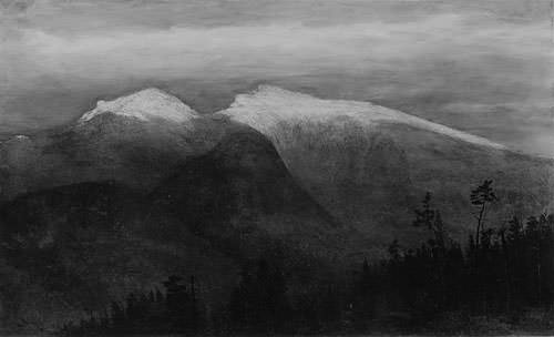The White Mountains From Randolph Hill. Homer Dodge Martin