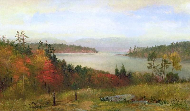 Raquette Lake. Homer Dodge Martin