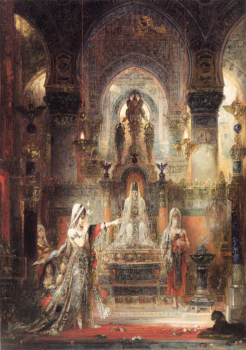 Salome Dancing before Herod. Gustave Moreau