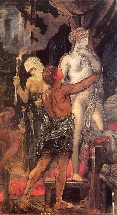 Messalina. Gustave Moreau