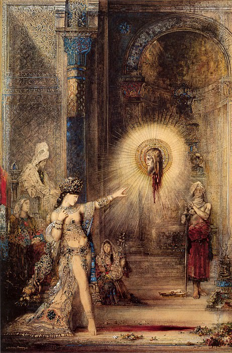 the apparition. Gustave Moreau