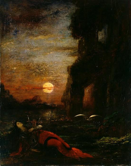 Death of Sappho. Gustave Moreau