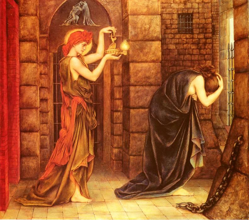Hope In The Prison Of Despair. Evelyn De Morgan