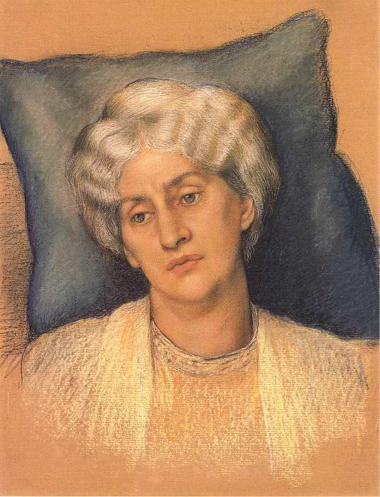 Jane Morris. Evelyn De Morgan