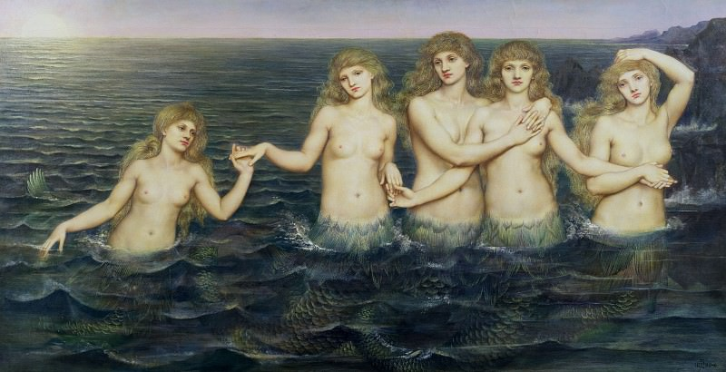 Морские девы. Эвелин де Морган