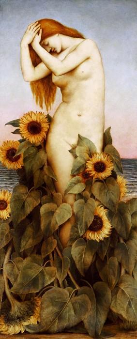 Clytie. Evelyn De Morgan