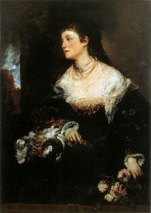 Благородная графиня Вальдштайн Вартенберг. Ханс Макарт
