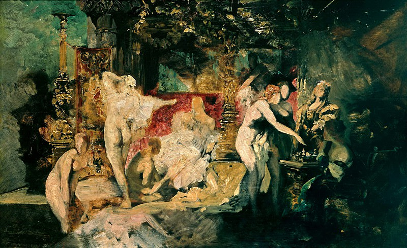 The summer. Hans Makart