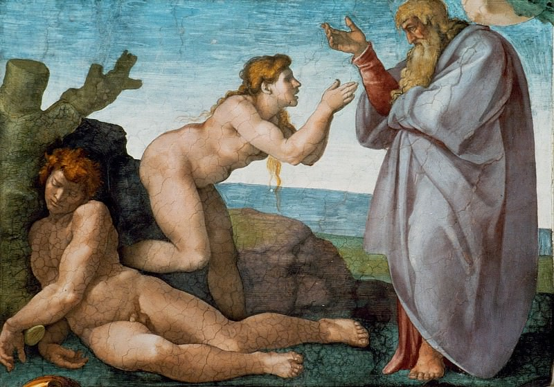 The Creation of Eve. Michelangelo Buonarroti