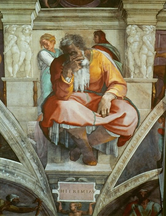 Jeremiah. Michelangelo Buonarroti