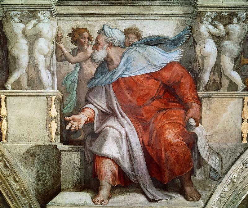 Ezekiel. Michelangelo Buonarroti