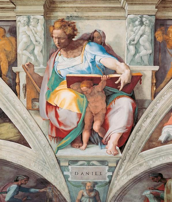 Daniel. Michelangelo Buonarroti