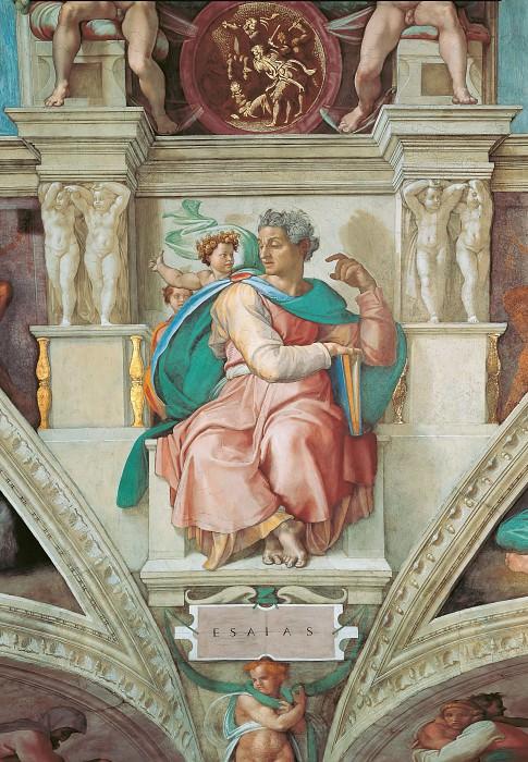 Исайя. Микеланджело Буонарроти