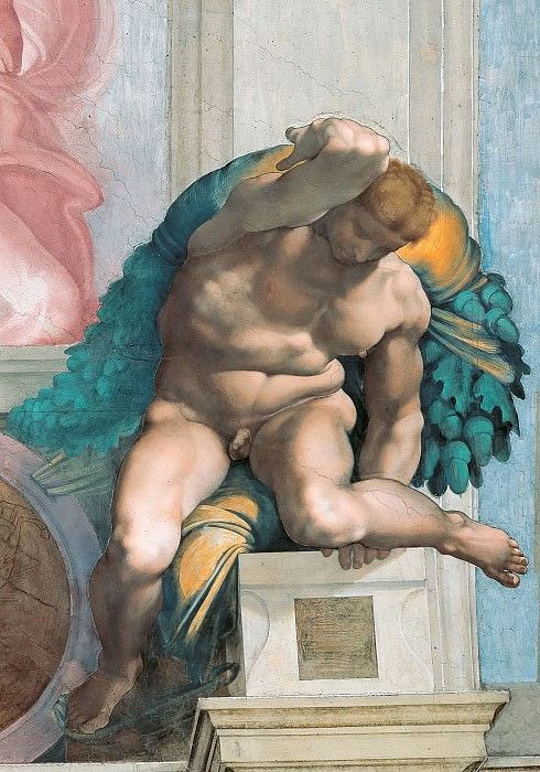 Ignudi. Michelangelo Buonarroti