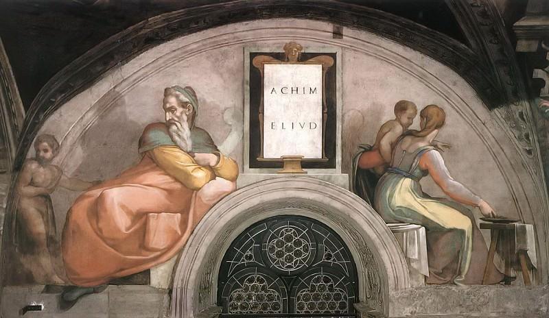 Achim - Eliud. Michelangelo Buonarroti