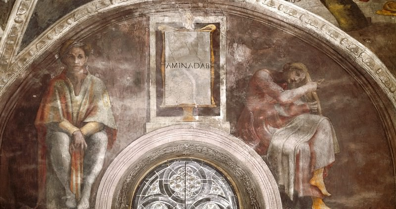 Aminadab. Michelangelo Buonarroti