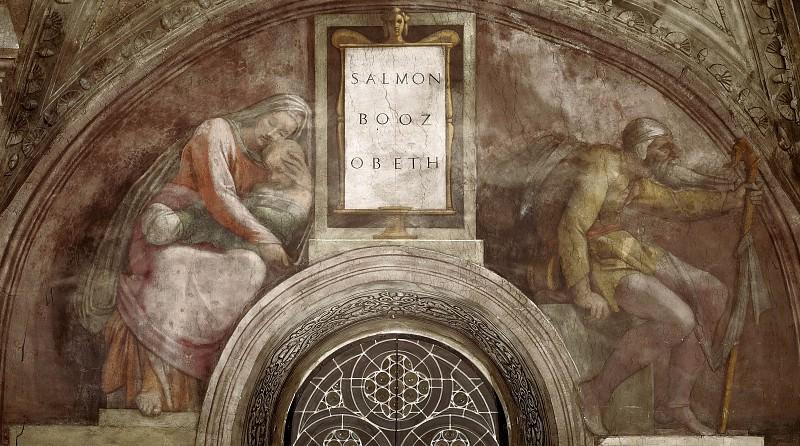 Salmon - Boaz - Obed. Michelangelo Buonarroti
