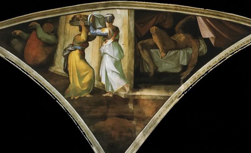 Judith and Holofernes. Michelangelo Buonarroti