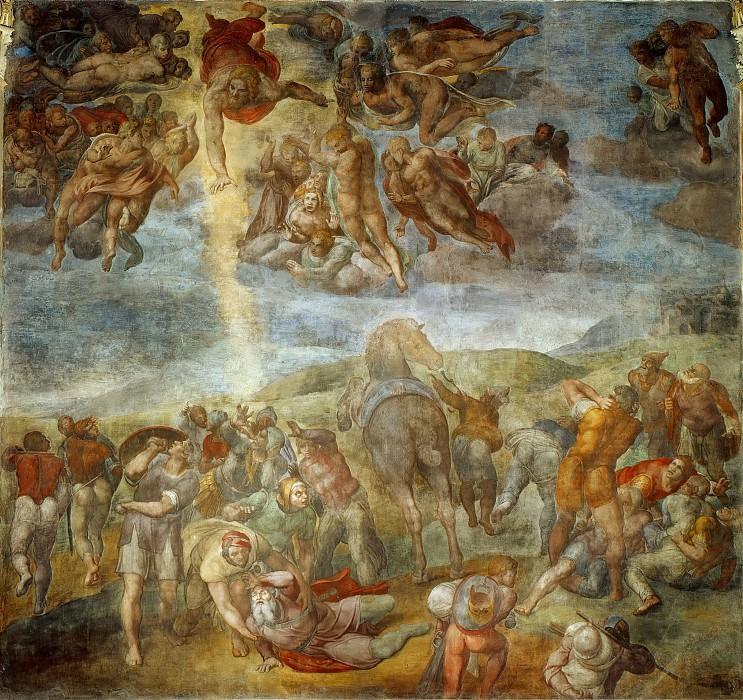 Conversion of Saint Paul. Michelangelo Buonarroti