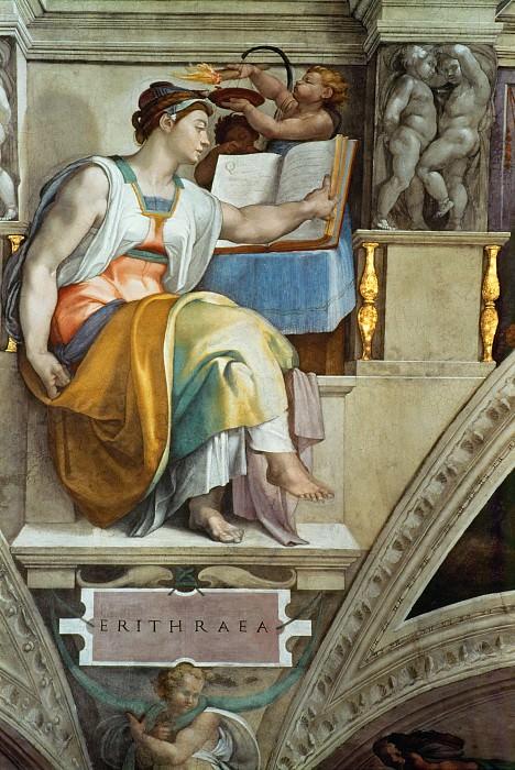 Эритрейская Сивилла. Микеланджело Буонарроти