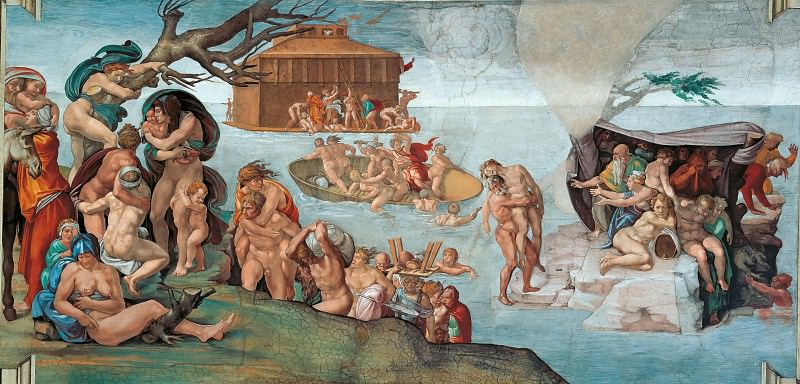 The Flood. Michelangelo Buonarroti