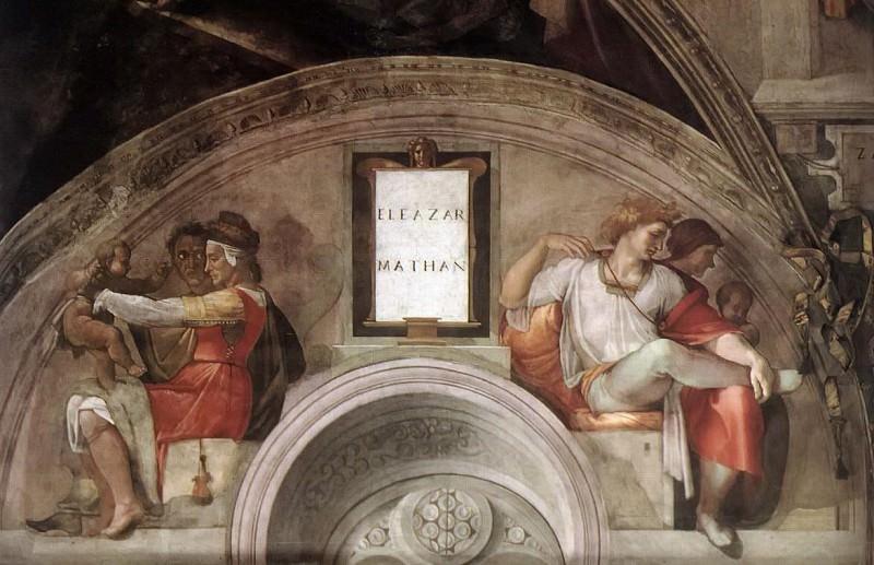 Eleazar - Matthan. Michelangelo Buonarroti