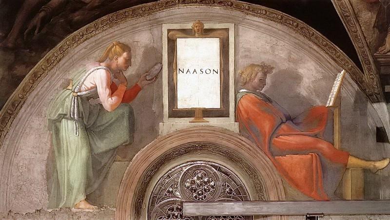 Nahshon. Michelangelo Buonarroti