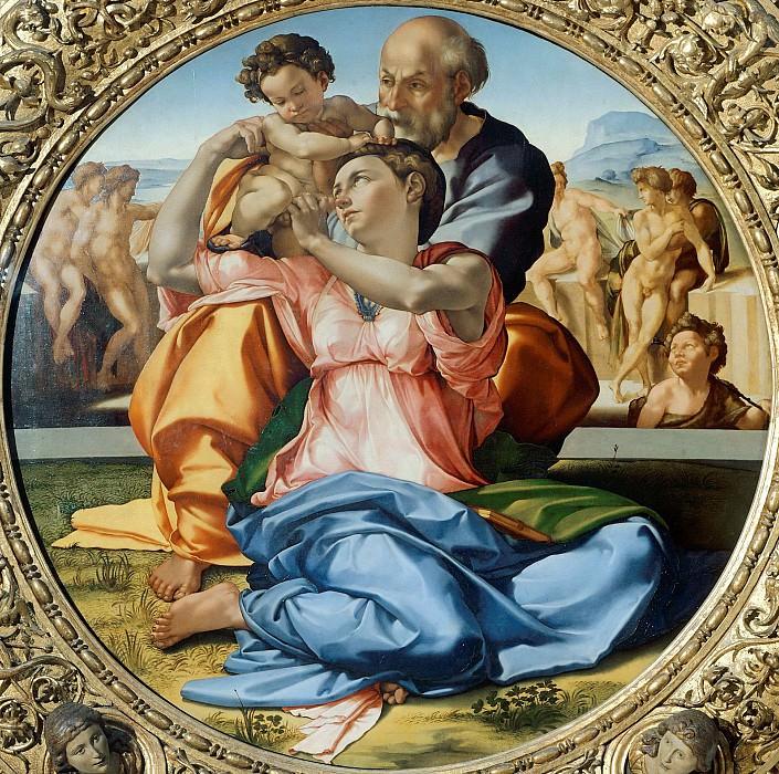 Doni Tondo. Michelangelo Buonarroti