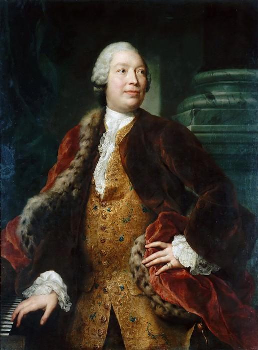 Portrait of the Singer Domenico Annibali. Anton Raphael Mengs