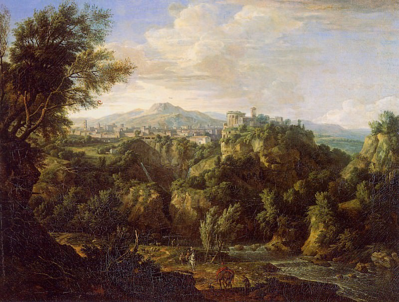 Moucheron de Isaac View on Tivoli. Gerard van Nijmegen